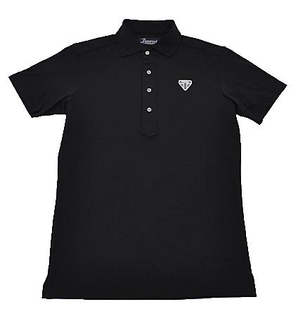 Tranvi TRSHB-040 Semi-wide Collar Shirts Black