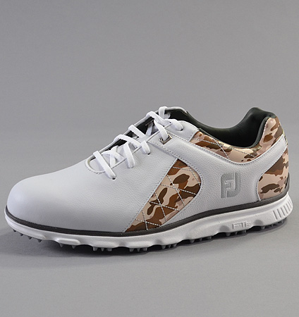 2018 FootJoy Pro/SL Limited Edition White/Desert Camo