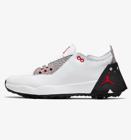 NIKE Jordan ADG 2 White/Black/Atmosphere Grey/University Red US Model