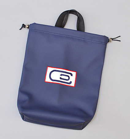 AM&E excors original Shoe Bag Navy/White