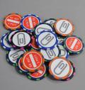 excors Poker Chip Ballmarker