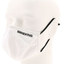BRIEFING 3D WASHABLE MASK WHITE