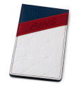 PING Stars and Stripes Yardage Book Cover Limited Edition