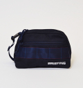 BRIEFING B SERIES ROUND POUCH NAVY