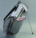 2018 Sun Mountain C-130 Stand Bag Charcoal/White/Red