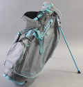 Sun Mountain Women's 4.5 LS Stand Bag Charcoal/Gray/Bahama