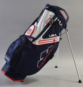 Sun Mountain C-130 Stand Bag  Navy/White/Red