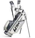 2020 Sun Mountain H2NO 14-Way Stand Bag White/Gunmetal