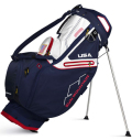 2020 Sun Mountain C-130 Stand Bag  Navy/White/Red