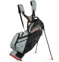 2022 Sun Mountain 4.5 LS 14-WAY Stand Bag Black/Gray Camo/Red