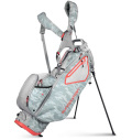 2022 Sun Mountain Women's 3.5 LS 14-Way Stand Bag Gray Camo/Cement/Coral