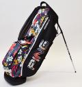 2021 PING Hoofer Lite Black/Tropic/White Custom Single Strap & Mr. PING Logo