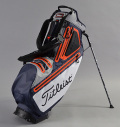 2017 Titleist Players 5 StaDry™ Stand Bag Navy/Steel/Orange