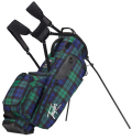 2018 TaylorMade FlexTech Lifestyle Stand Bag   Blue/Plaid