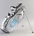 excors Stand Bag White/Lt Blue