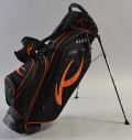KJUS BIG LOGO GOLF STAND BAG BLACK