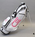 2020 excors Stand Bag White/Pink