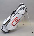 2020 excors Stand Bag White/Red/Navy