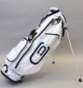 2020 excors Stand Bag White/Navy/Silver