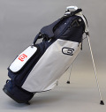 2020 excors Stand Bag Navy/White/Navy/Red