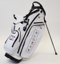 excors Stand Bag White/Navy/Red