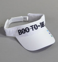 Boo To Bee Visor White