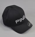 2018 PING Flexfit Delta Cap Black/Silver