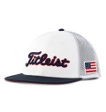 Titleist Stars and Stripes Tour Flat Bill Mesh Cap Tri-Color
