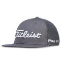 Titleist Tour Flat Bill Mesh Cap Charcoal/White