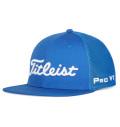 2020 Titleist Tour Flat Bill Mesh Cap Royal/White