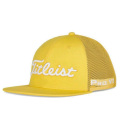 2020 Titleist Tour Flat Bill Mesh Cap Yellow/White
