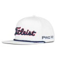 2020 Titleist Stars and Stripes Tour Rope Flat Bill Hat White/Navy