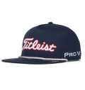 2020 Titleist Stars and Stripes Tour Rope Flat Bill Hat Navy/White
