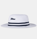 Titleist Cotton Stripe Bucket White/Navy