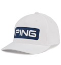 2020 PING Tour Delta Fitted Cap White/Navy