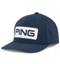 2020 PING Tour Delta Fitted Cap Navy/White