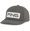 PING Debossed PYB(PLAY YOUR BEST) Cap Grey/White