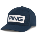 PING Debossed PYB(PLAY YOUR BEST) Cap Navy/White