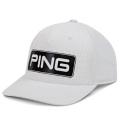 PING Coastal Tour Snapback Cap White Limited Edition
