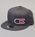 NEW ERA 9FIFTY excors Hat Charcoal/Pink