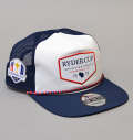 NEW ERA  2020 Ryder Cup The Golfer Snapback Limited Rope Cap White/Navy