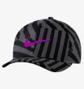 NIKE Classic 99 Golf Hat Black/Dark Smoke Grey/Vivid Purple