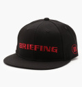 BRIEFING  BASIC CURVED VISOR CAP BLACK