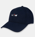 FootJoy Performance Cap Navy/Shoe Logo