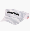 BRIEFING MENS DIGITAL CAMO VISOR WHITE
