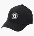 BRIEFING MENS LOGO ELASTIC CAP BLACK