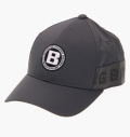 BRIEFING MENS LOGO ELASTIC CAP GRAY