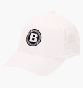 BRIEFING MENS LOGO ELASTIC CAP WHITE