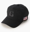 BRIEFING  MENS CAMO INITIAL CAP BLACK