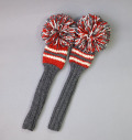 2018 Jan Craig Headcovers Charcoal/Red/White  Fairway